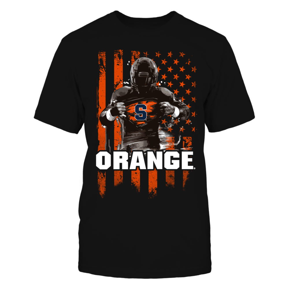 Player Flag - Syracuse Orange Front picture