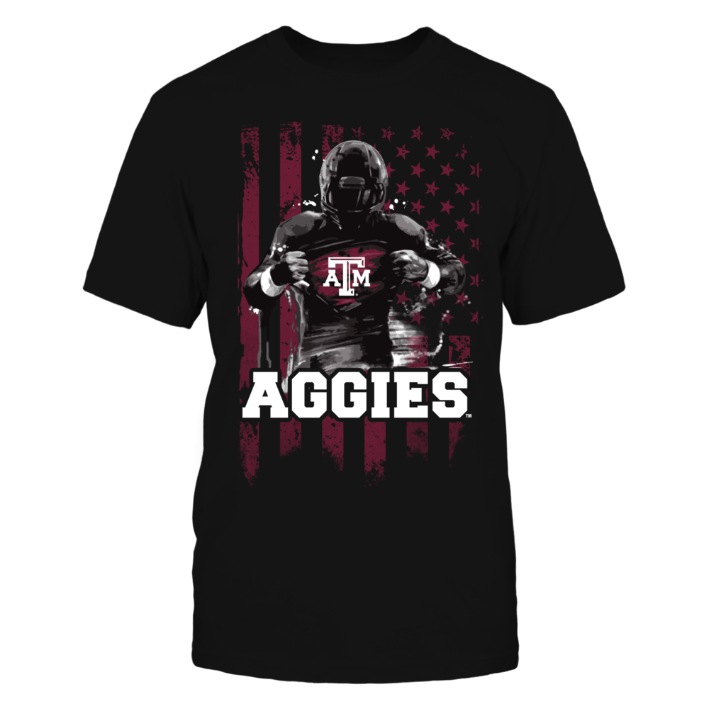 Player Flag - Texas A&M Aggies Front picture