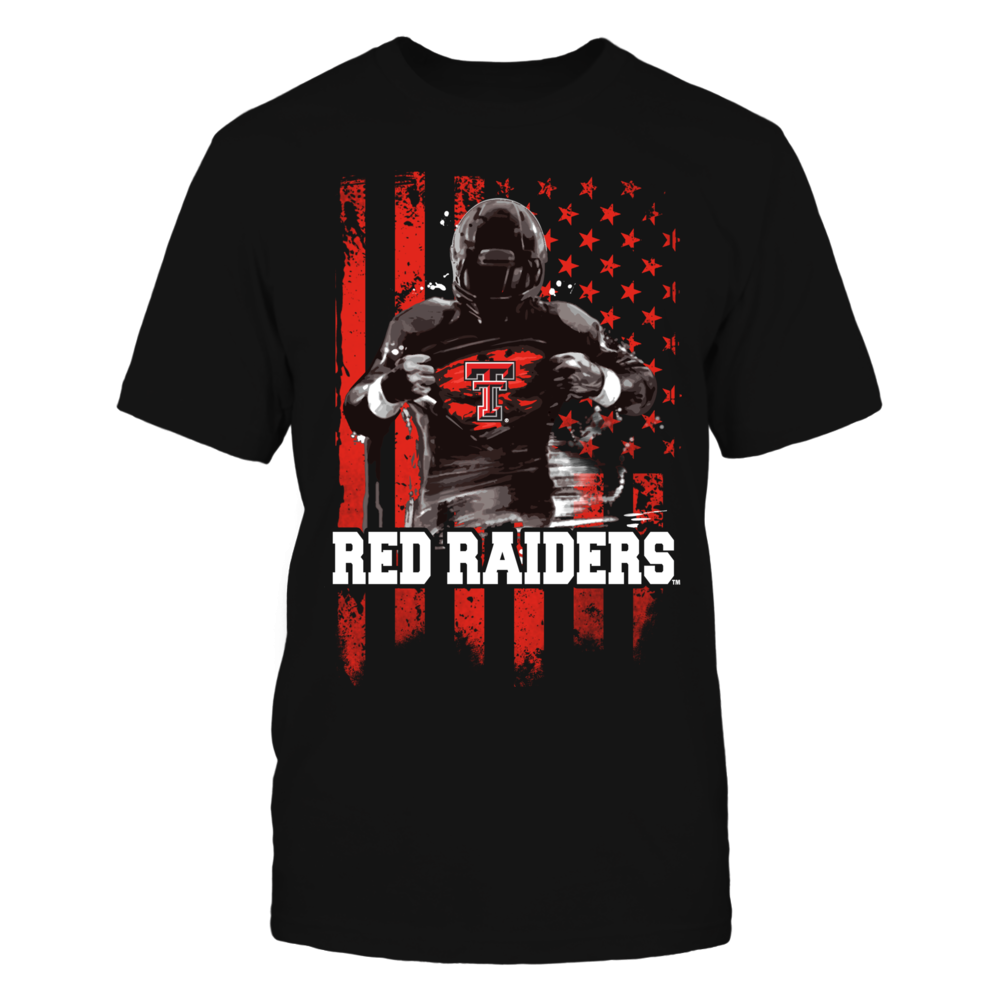Player Flag - Texas Tech Red Raiders Front picture