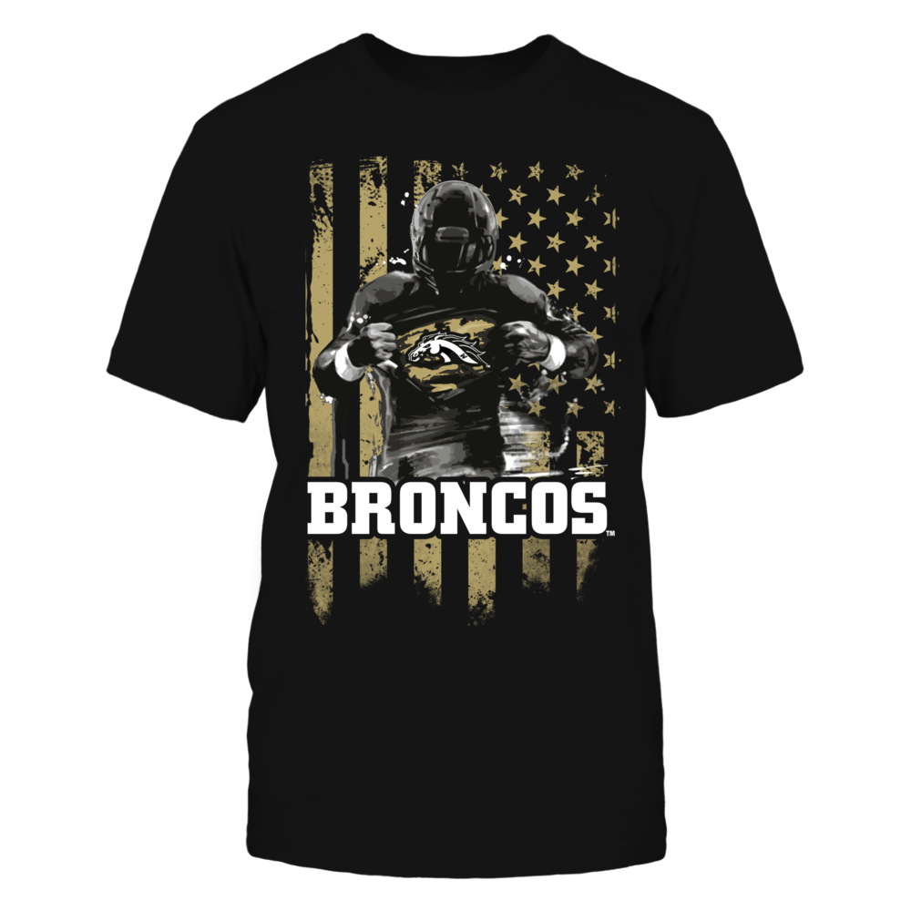 Player Flag - Western Michigan Broncos Front picture
