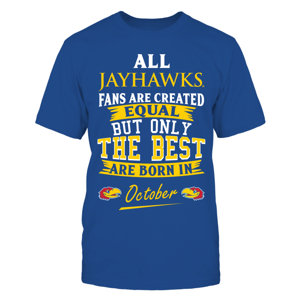 Kansas Jayhawks Fans - October Front picture