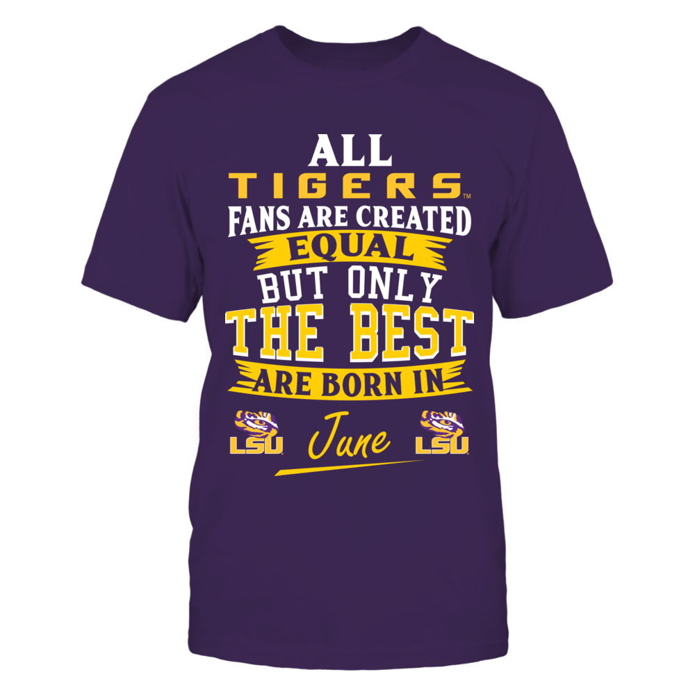 LSU Tigers Fans - June Front picture