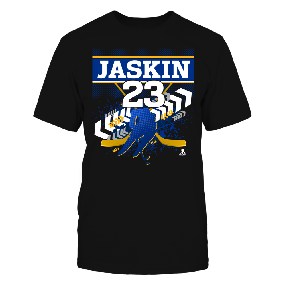 Dmitri Jaskin #23 Front picture