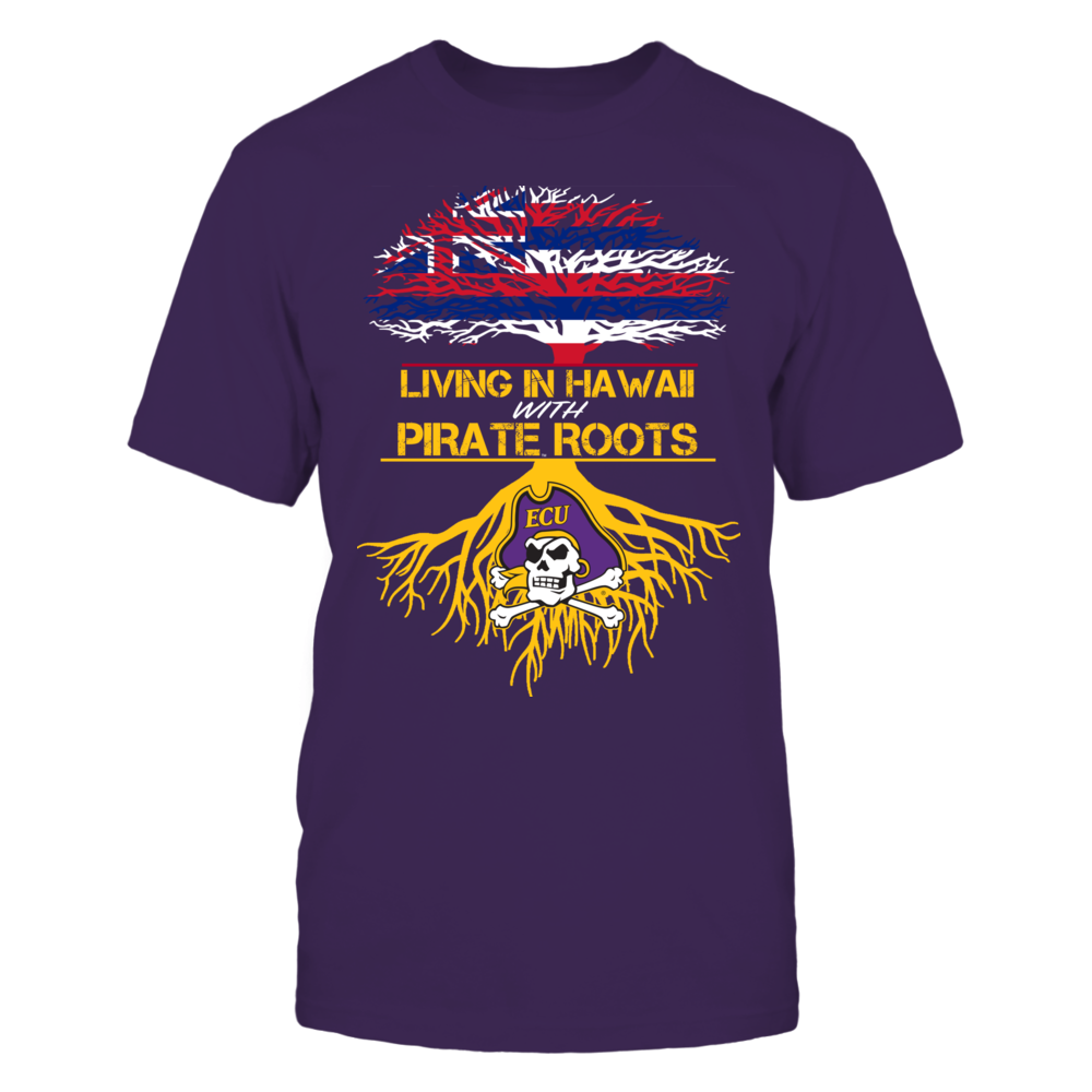 East Carolina Pirates - Living Roots Hawaii Front picture