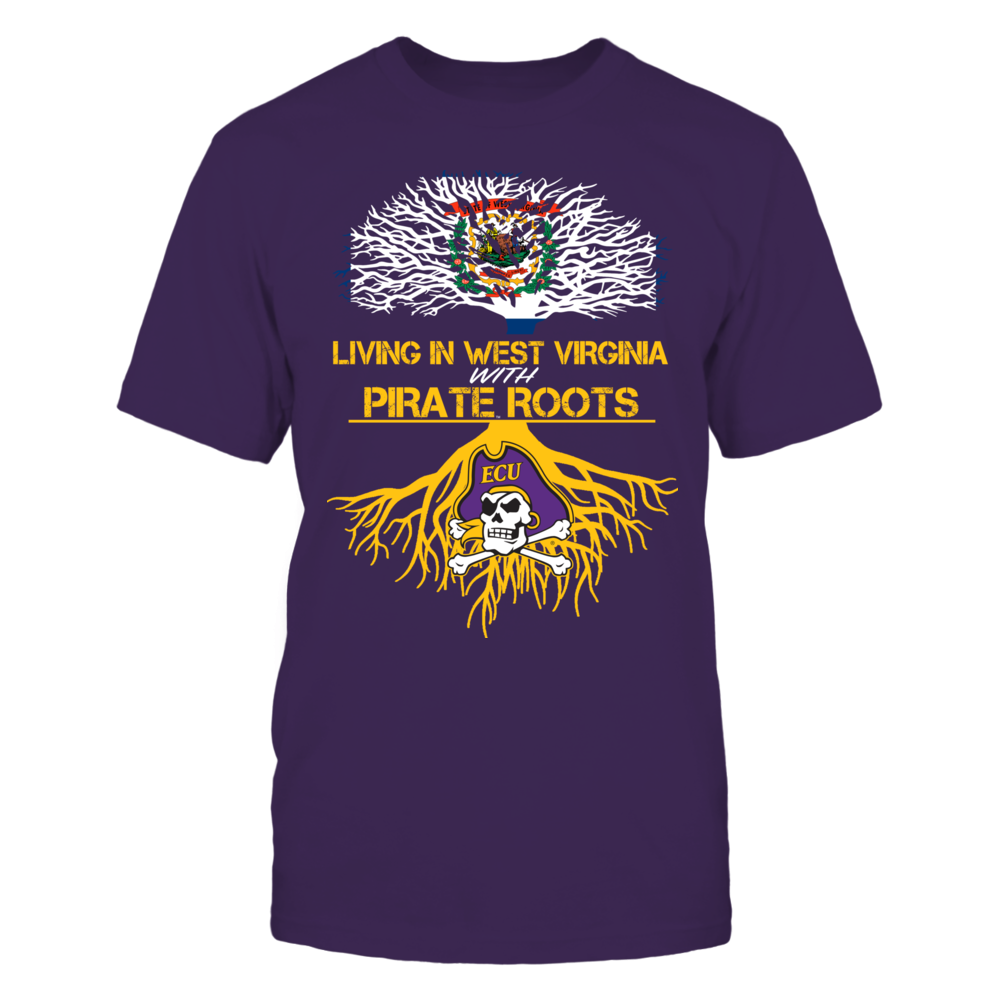 East Carolina Pirates - Living Roots West Virginia Front picture