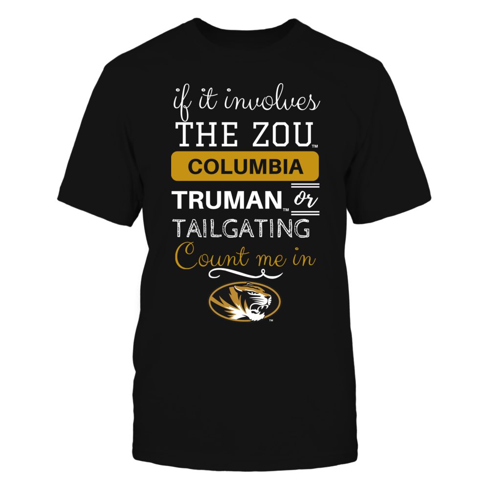 If It Involves Columbia - Mizzou Tigers Front picture