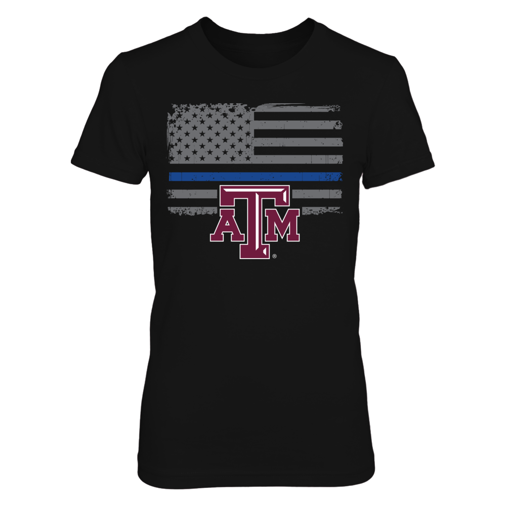 Texas A&M Aggies Texas A&M Aggies - Thin Blue Line FanPrint