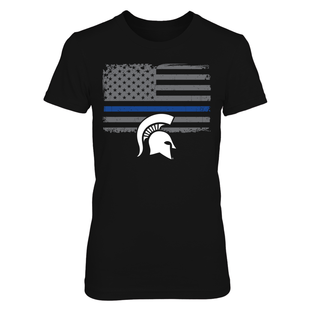 Michigan State Spartans - Thin Blue Line Front picture