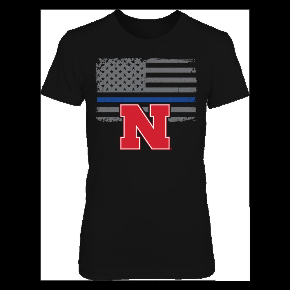 Nebraska Cornhuskers - Thin Blue Line Front picture
