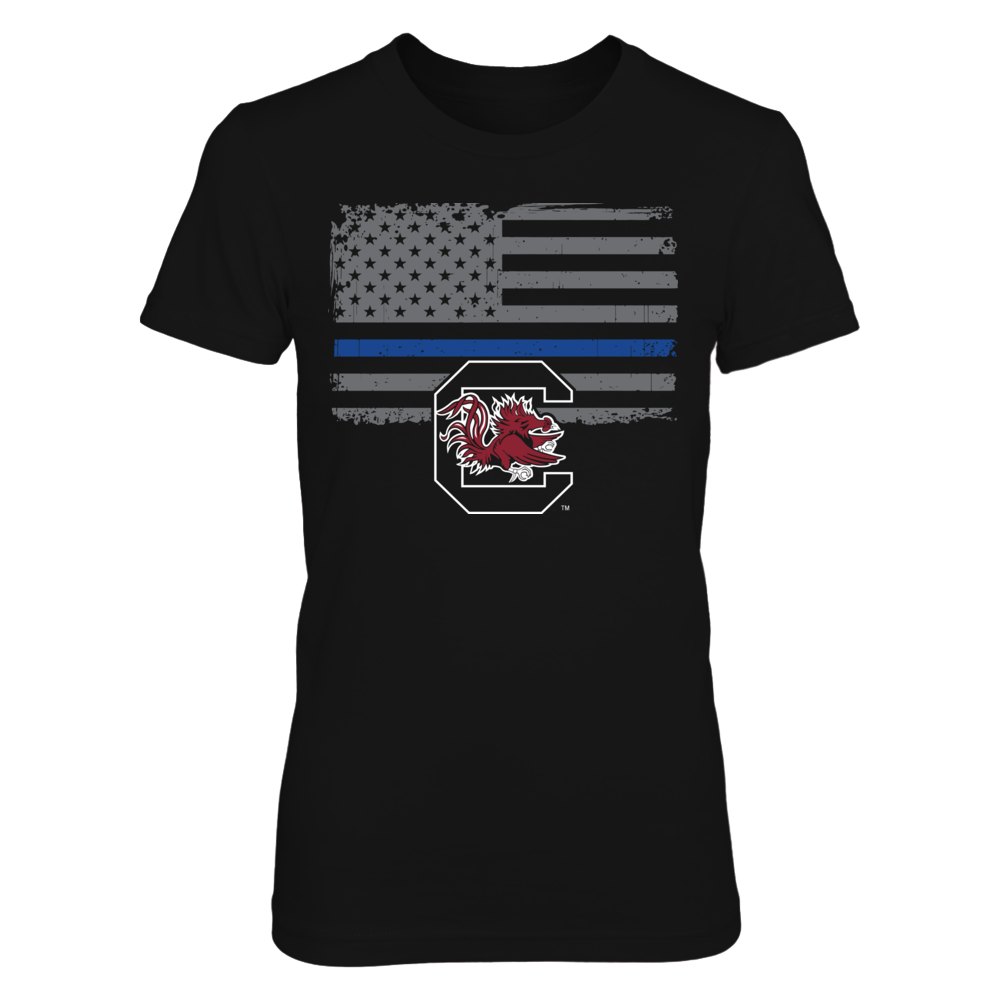 South Carolina Gamecocks - Thin Blue Line Front picture
