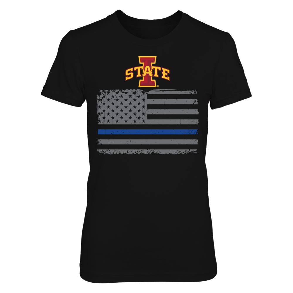 Iowa State Cyclones - Thin Blue Line Front picture