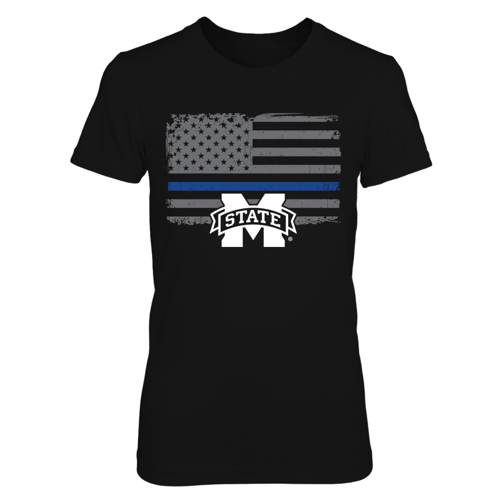 Mississippi State Bulldogs - Thin Blue Line Front picture