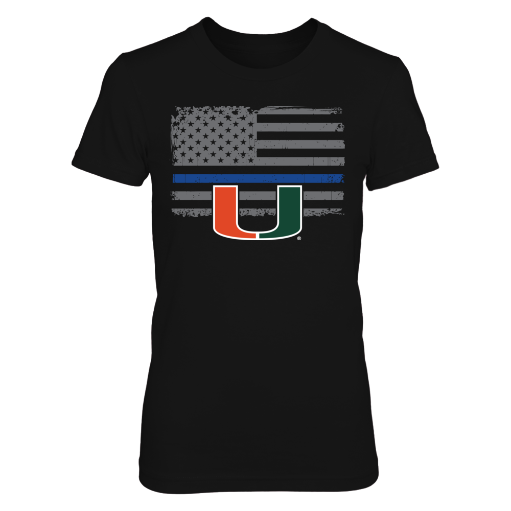 Miami Hurricanes - Thin Blue Line Front picture