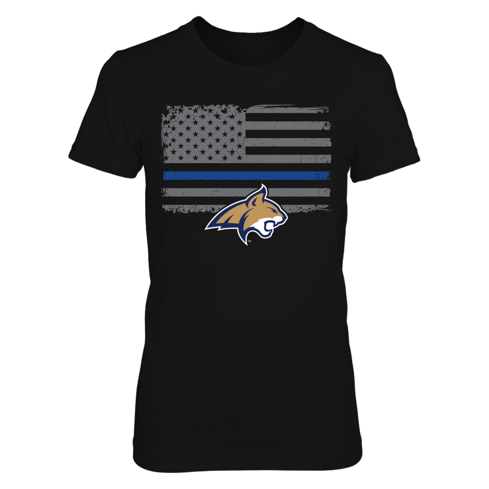 Montana State Bobcats - Thin Blue Line Front picture