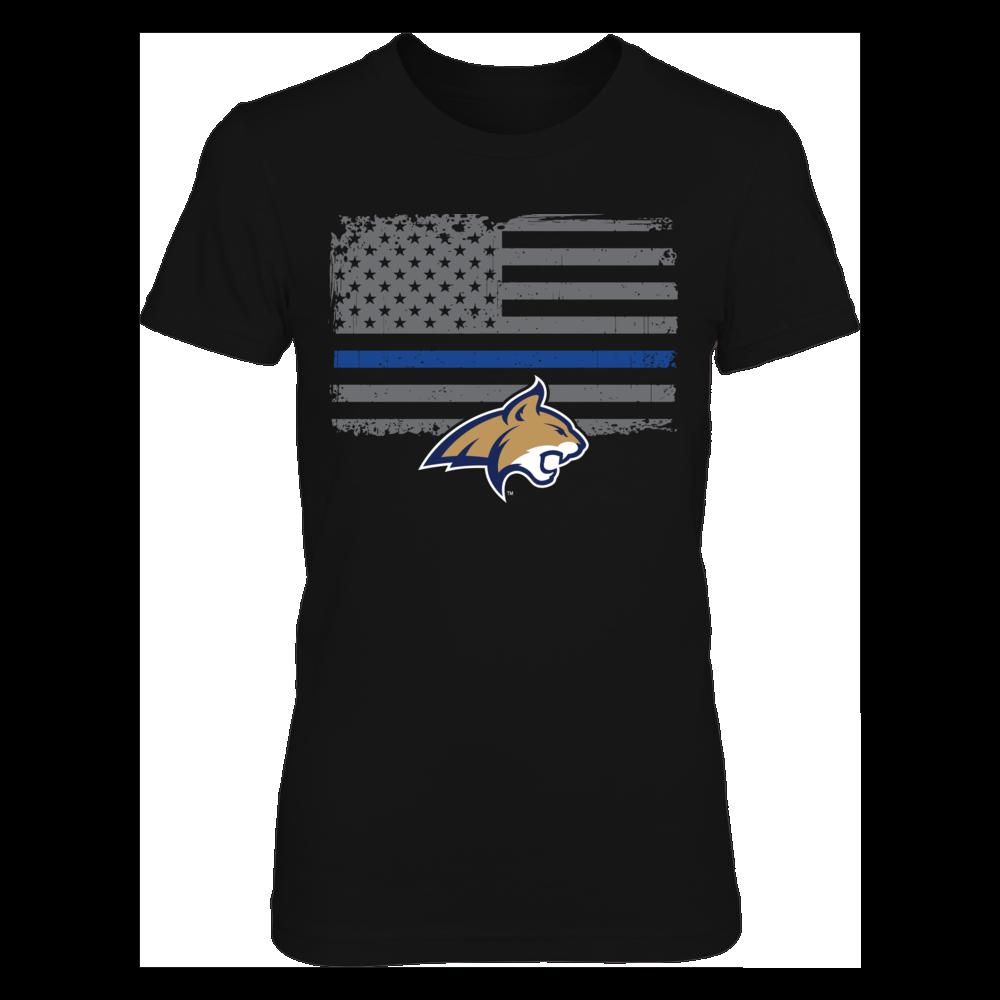 Montana State Bobcats Montana State Bobcats - Thin Blue Line FanPrint