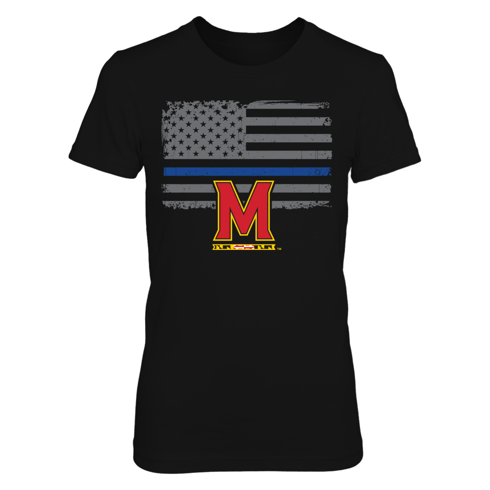 Maryland Terrapins - Thin Blue Line Front picture