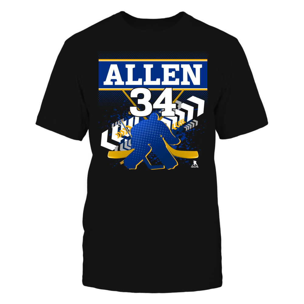 Jake Allen #34 - Goalie Front picture