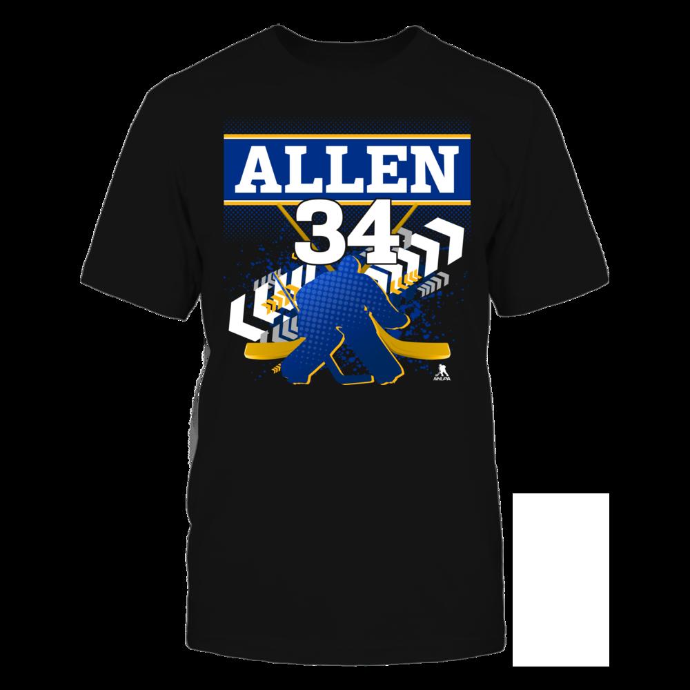 Jake Allen Jake Allen #34 - Goalie FanPrint