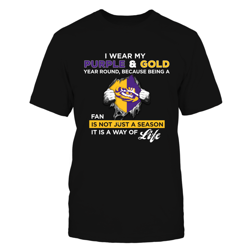 Wear My Colors - LSU Tigers Front picture