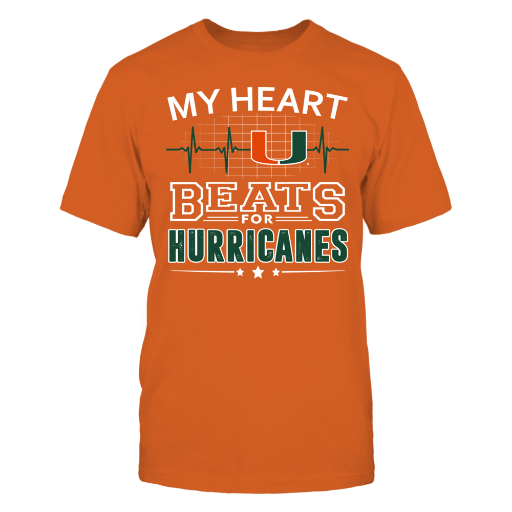 My Heart Beats for Miami Hurricanes Front picture