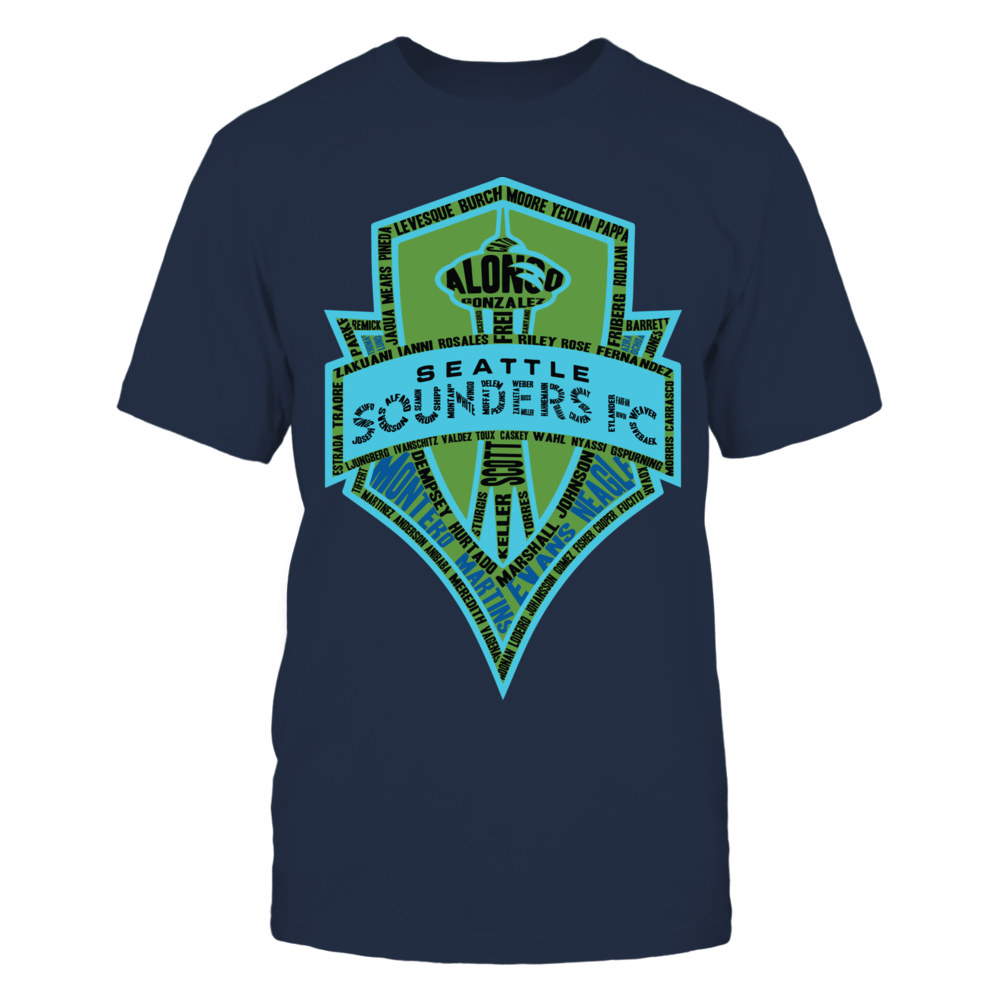 Seattle Sounders - log Front picture