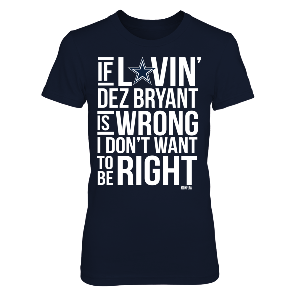 Dez Bryant - Loving Wrong Right Front picture