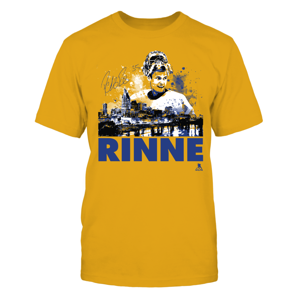 Pekka Rinne - Player Portrait Skyline Front picture
