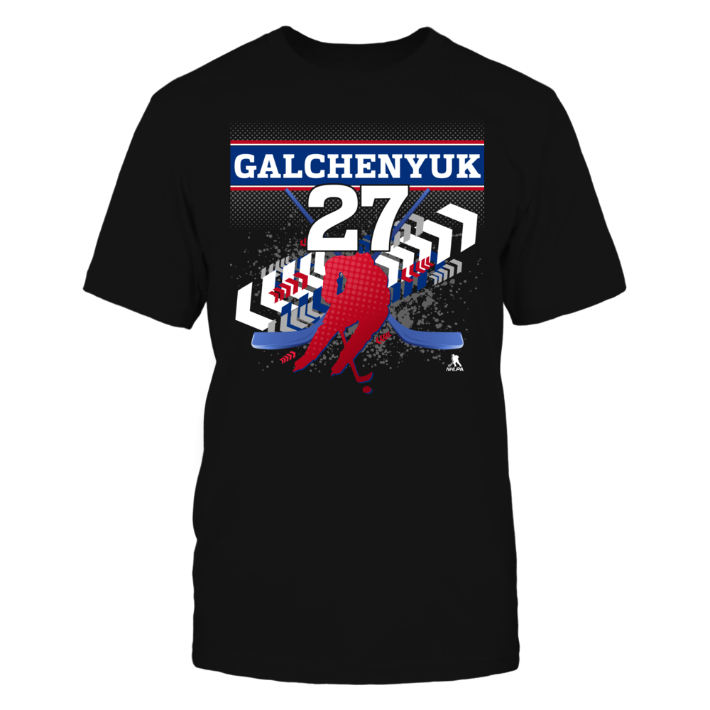 Alex Galchenyuk #27 Front picture