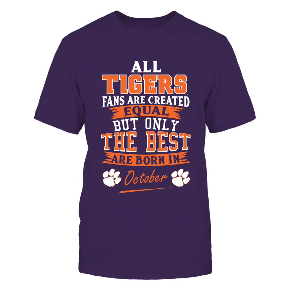 Clemson Tigers Fans - October Front picture