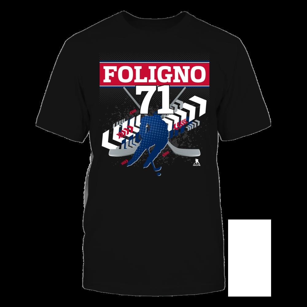 Nick Foligno #71 Front picture