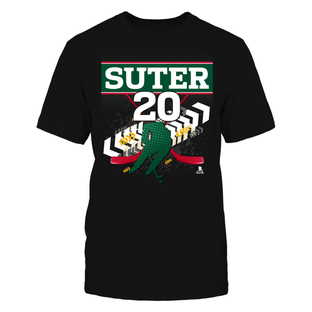 Ryan Suter #20 Front picture