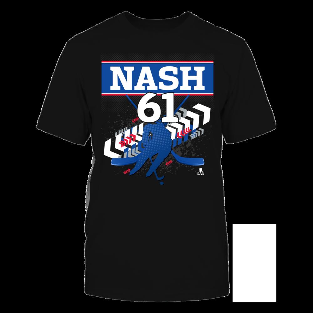 Rick Nash #61 Front picture
