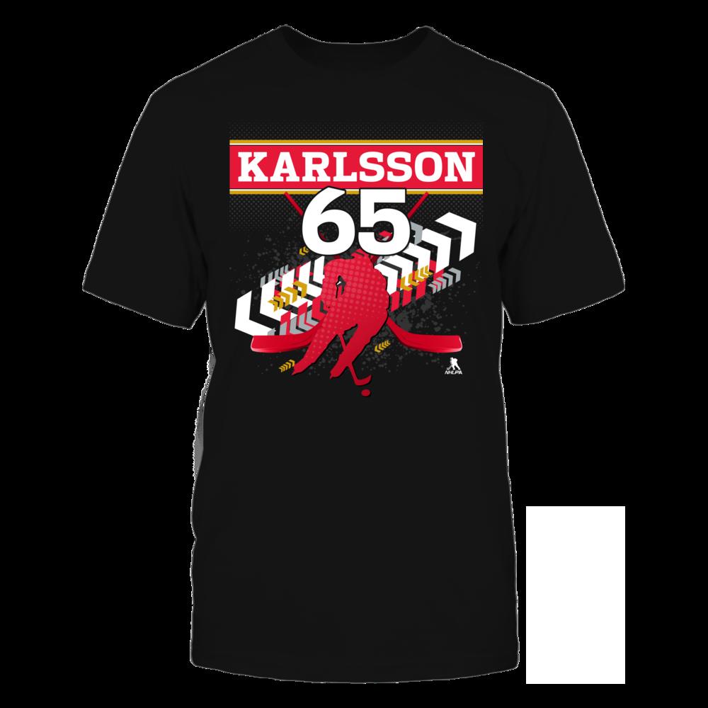 Erik Karlsson #65 Front picture