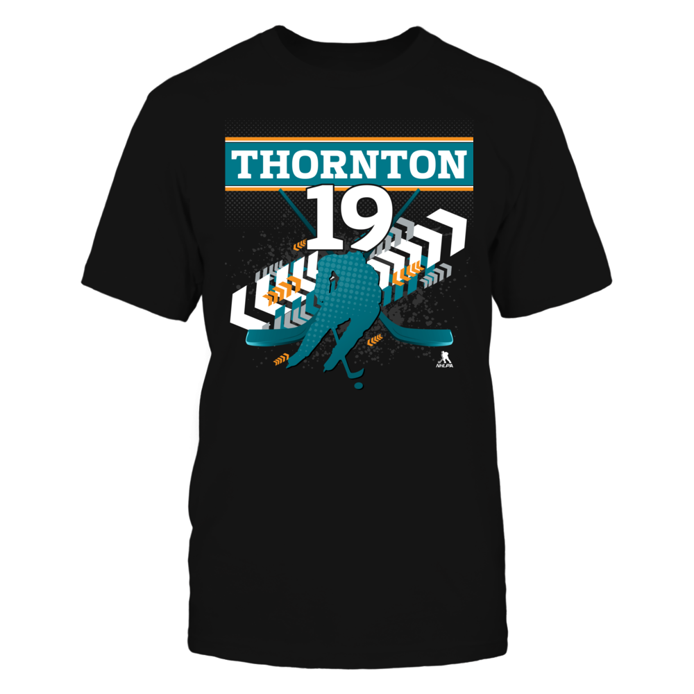Joe Thornton #19 Front picture