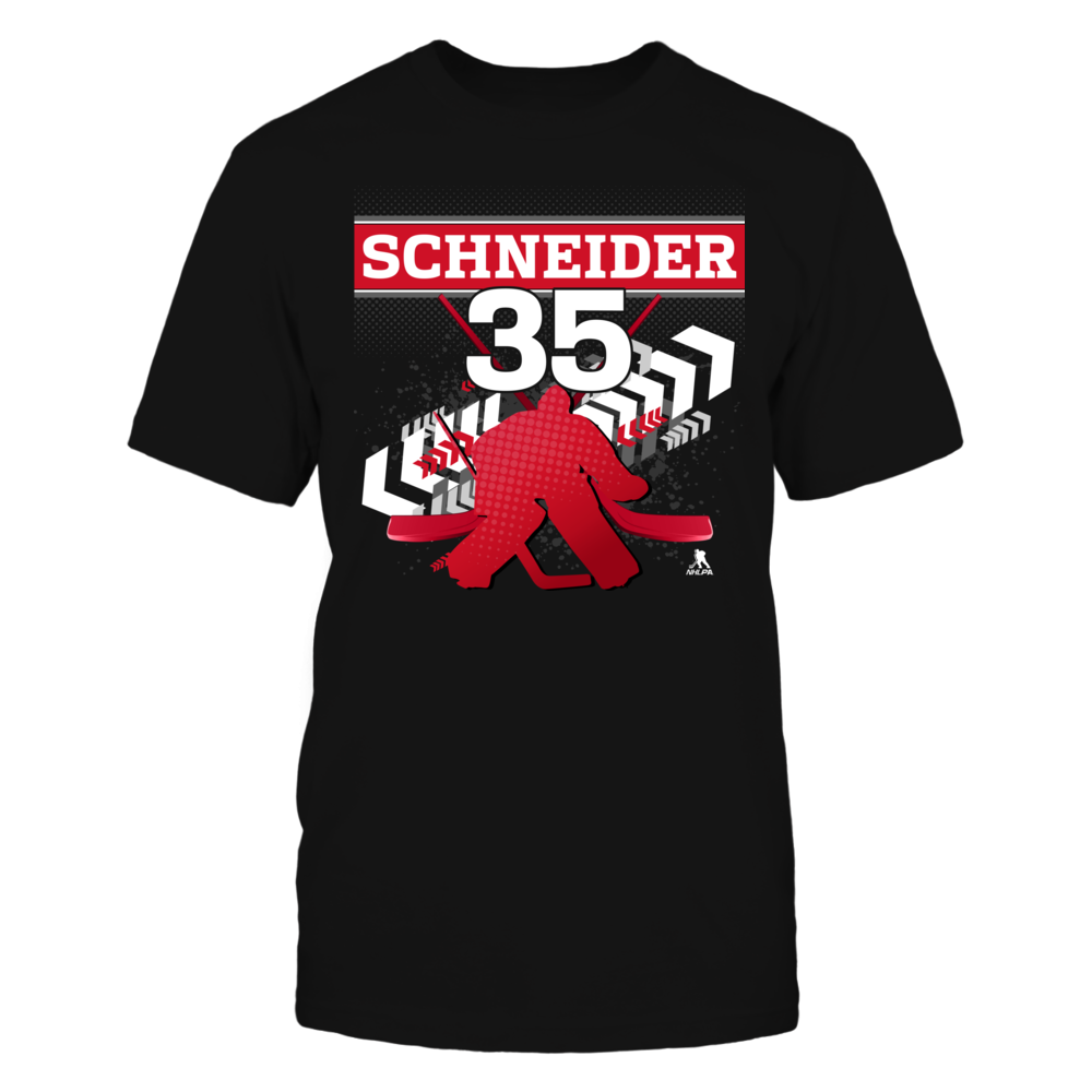 Cory Schneider #35 - Goalie Front picture