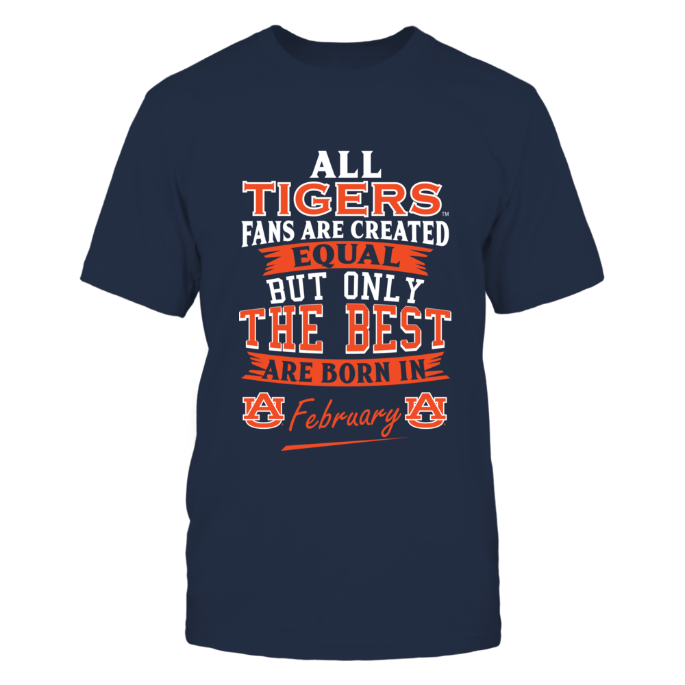 Auburn Tigers Fans - February Front picture