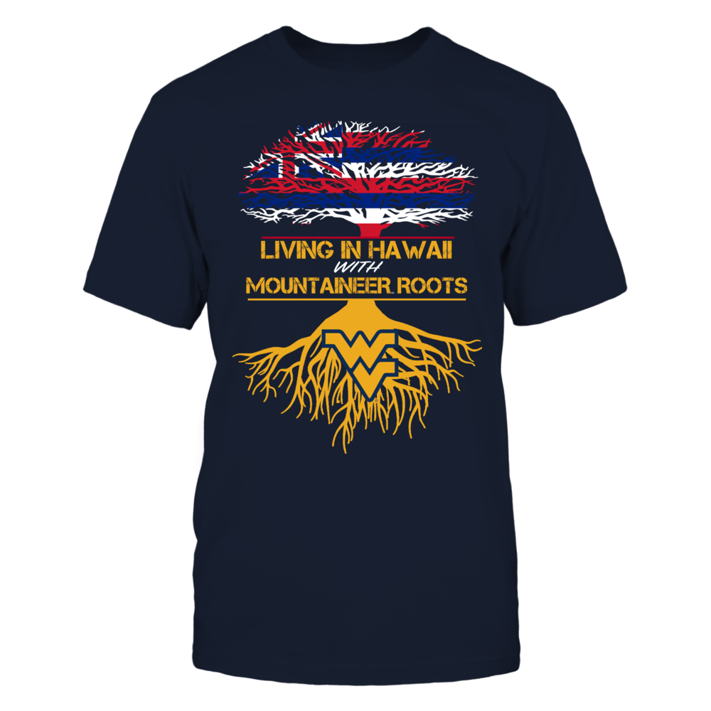 West Virginia Mountaineers - Living Roots Hawaii Front picture