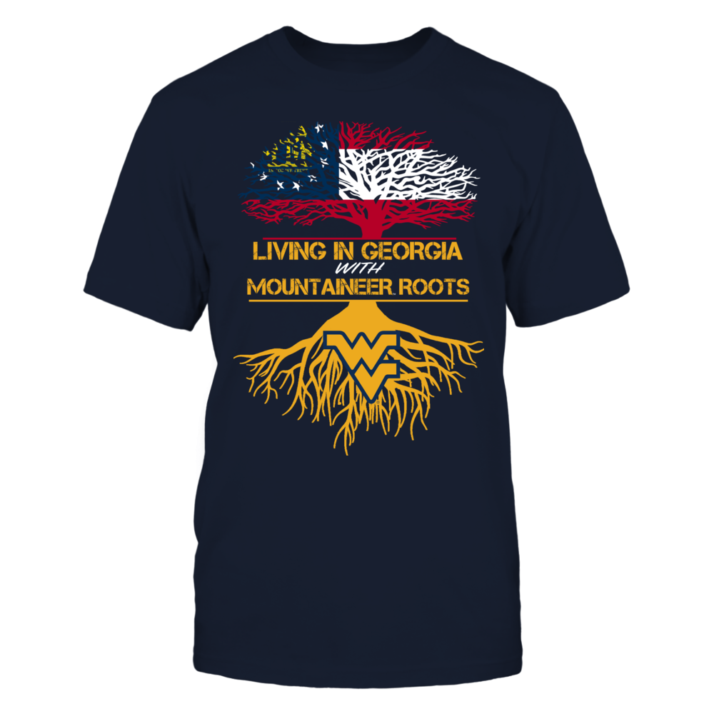 West Virginia Mountaineers - Living Roots Georgia Front picture