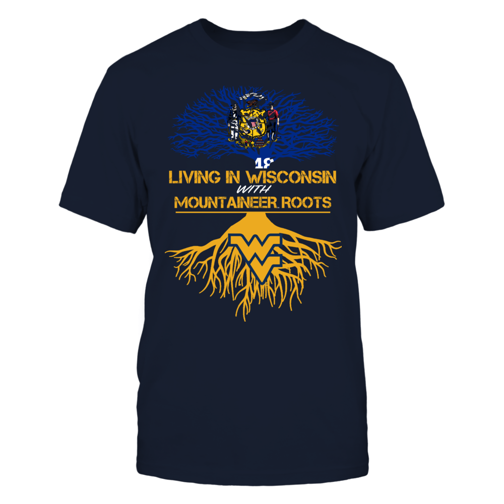 West Virginia Mountaineers - Living Roots Wisconsin Front picture