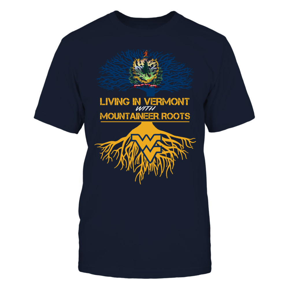 West Virginia Mountaineers - Living Roots Vermont Front picture