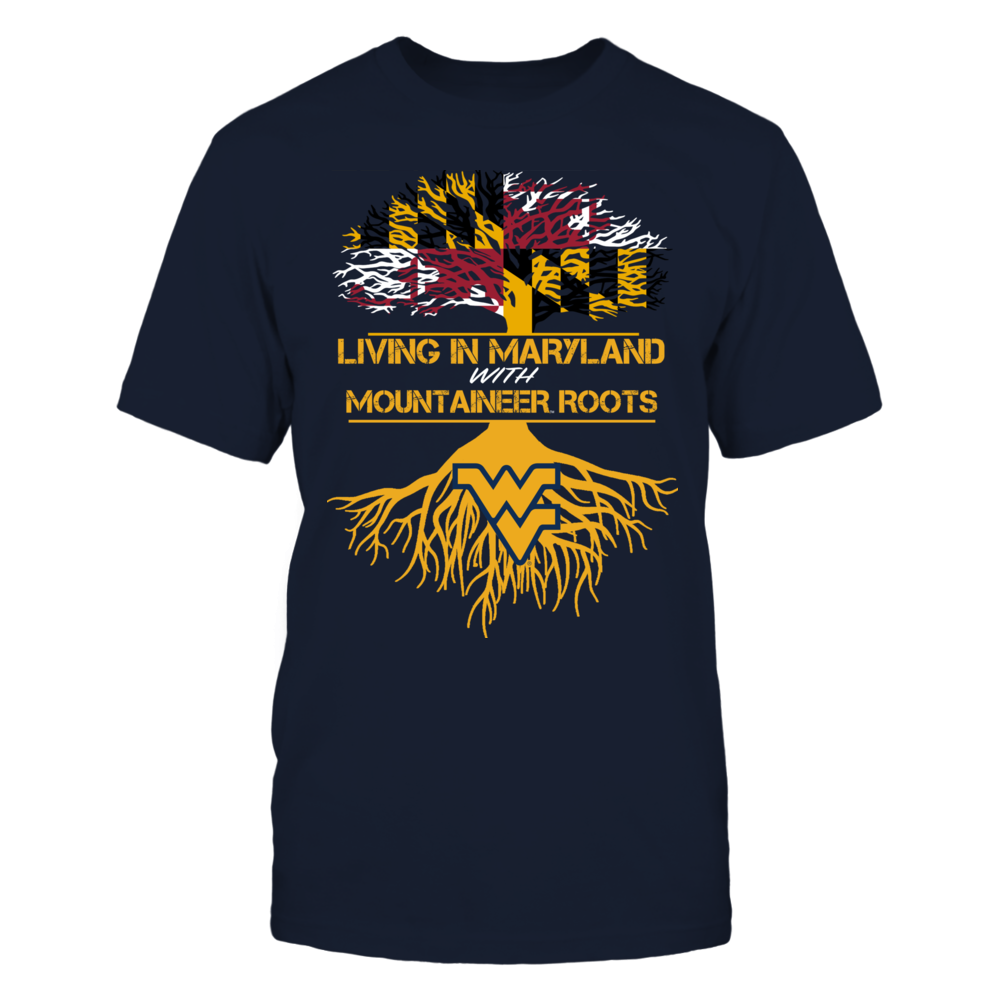 West Virginia Mountaineers - Living Roots Maryland Front picture