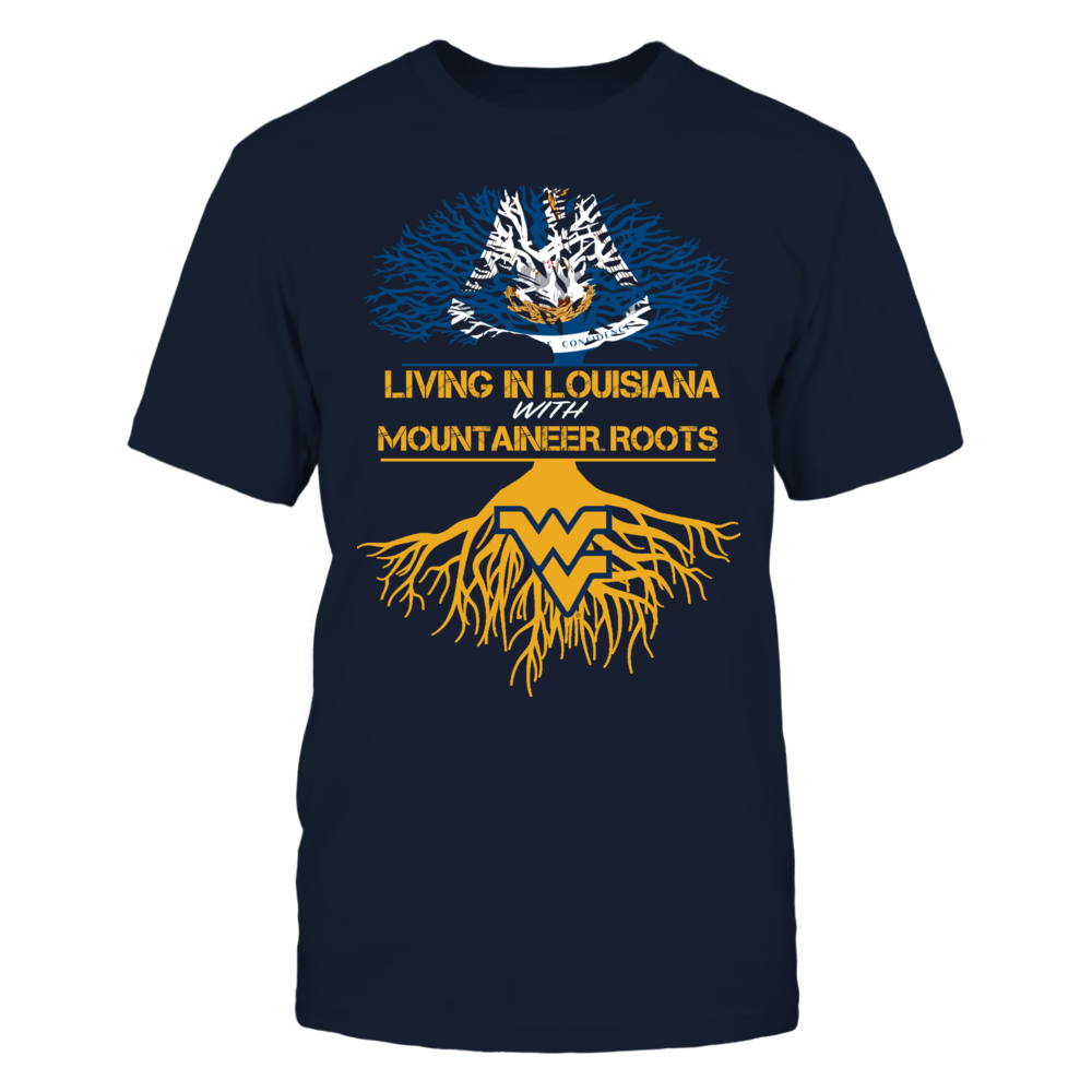 West Virginia Mountaineers - Living Roots Louisiana Front picture
