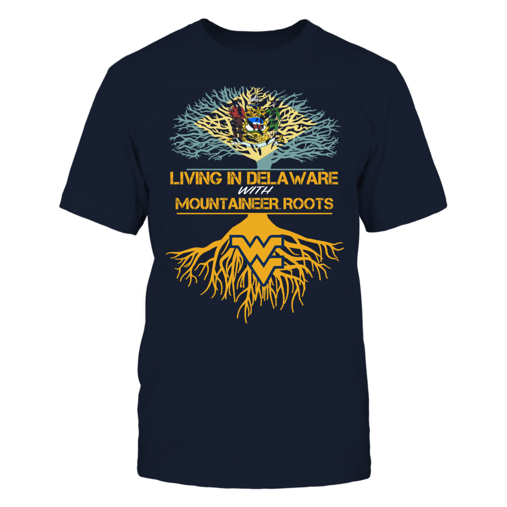 West Virginia Mountaineers - Living Roots Delaware Front picture