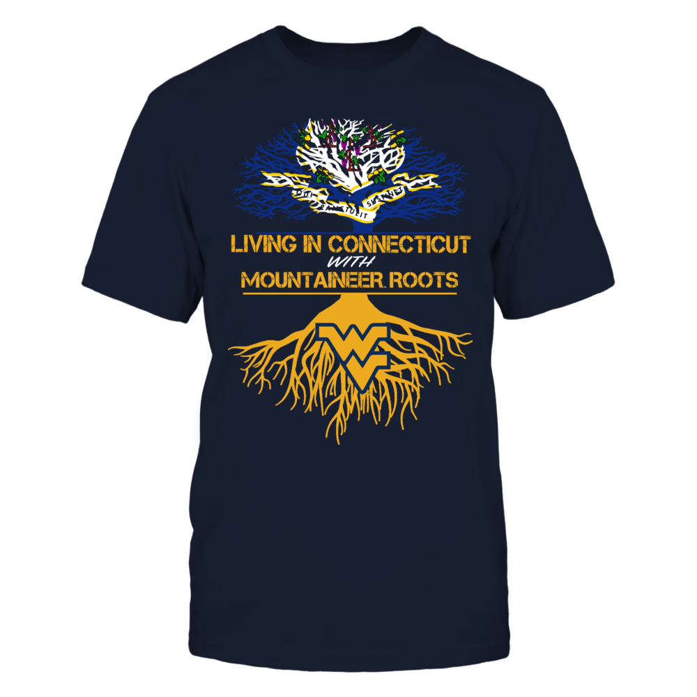 West Virginia Mountaineers - Living Roots Connecticut Front picture