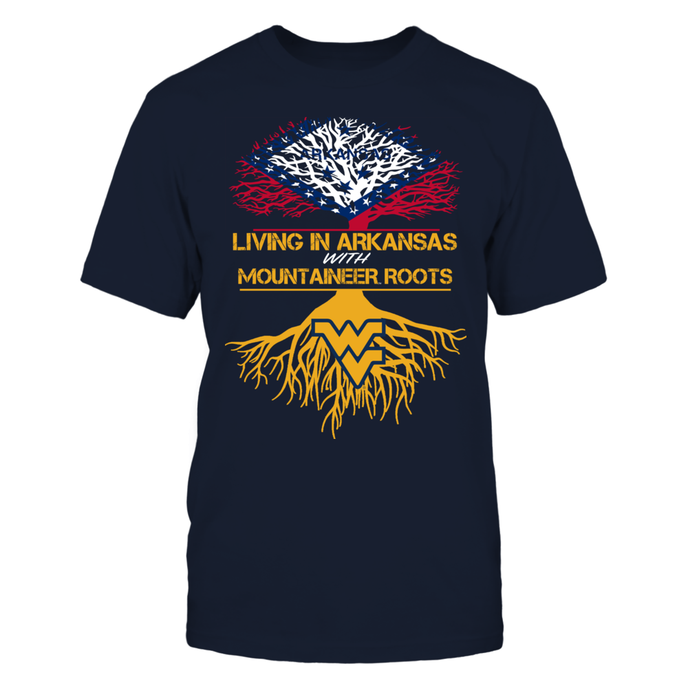 West Virginia Mountaineers - Living Roots Arkansas Front picture