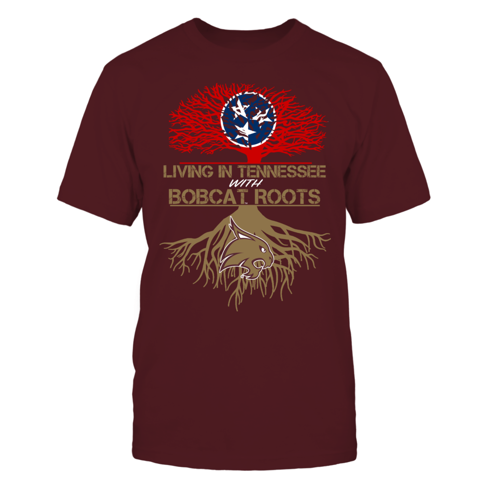 Texas State Bobcats - Living Roots Tennessee Front picture