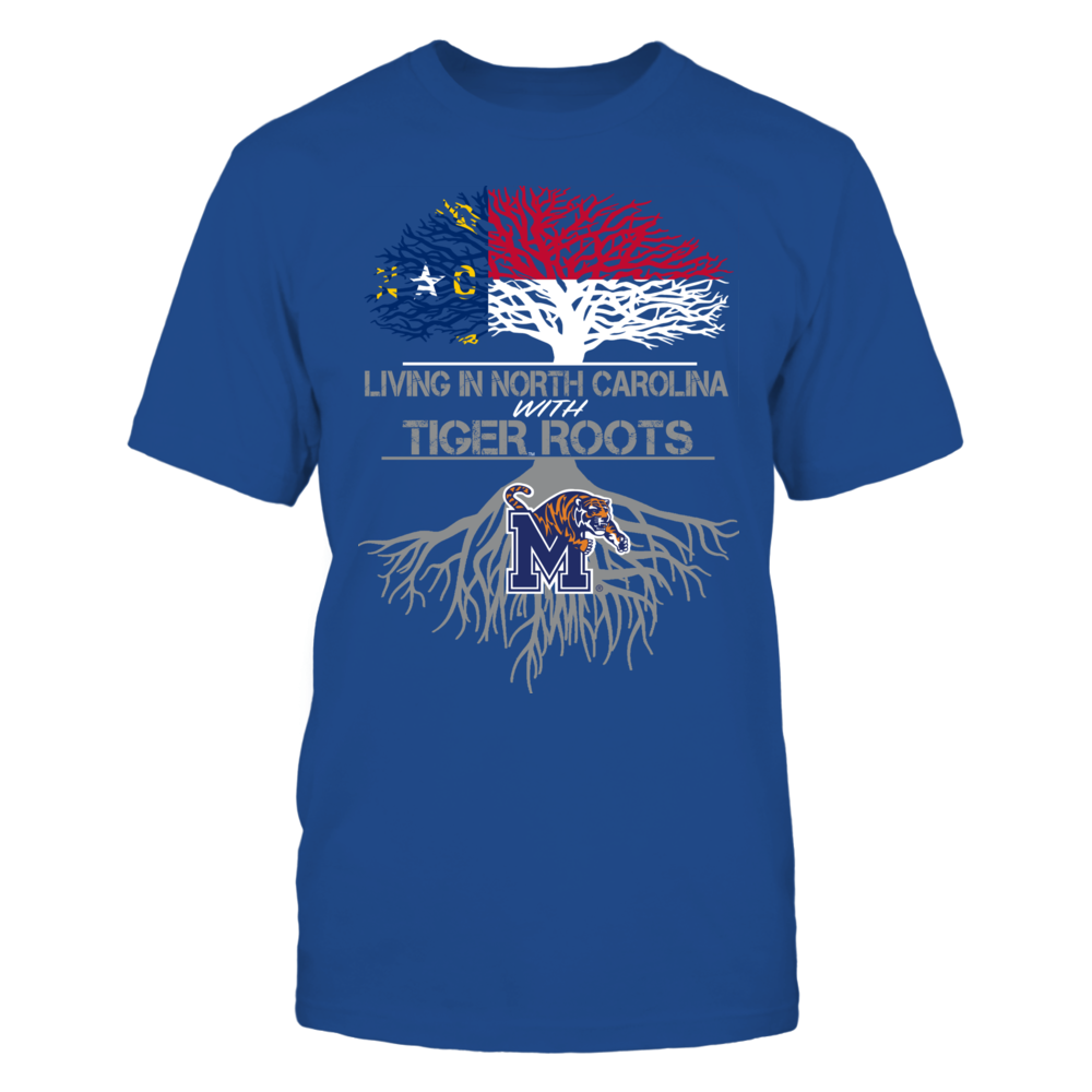 Memphis Tigers - Living Roots North Carolina Front picture
