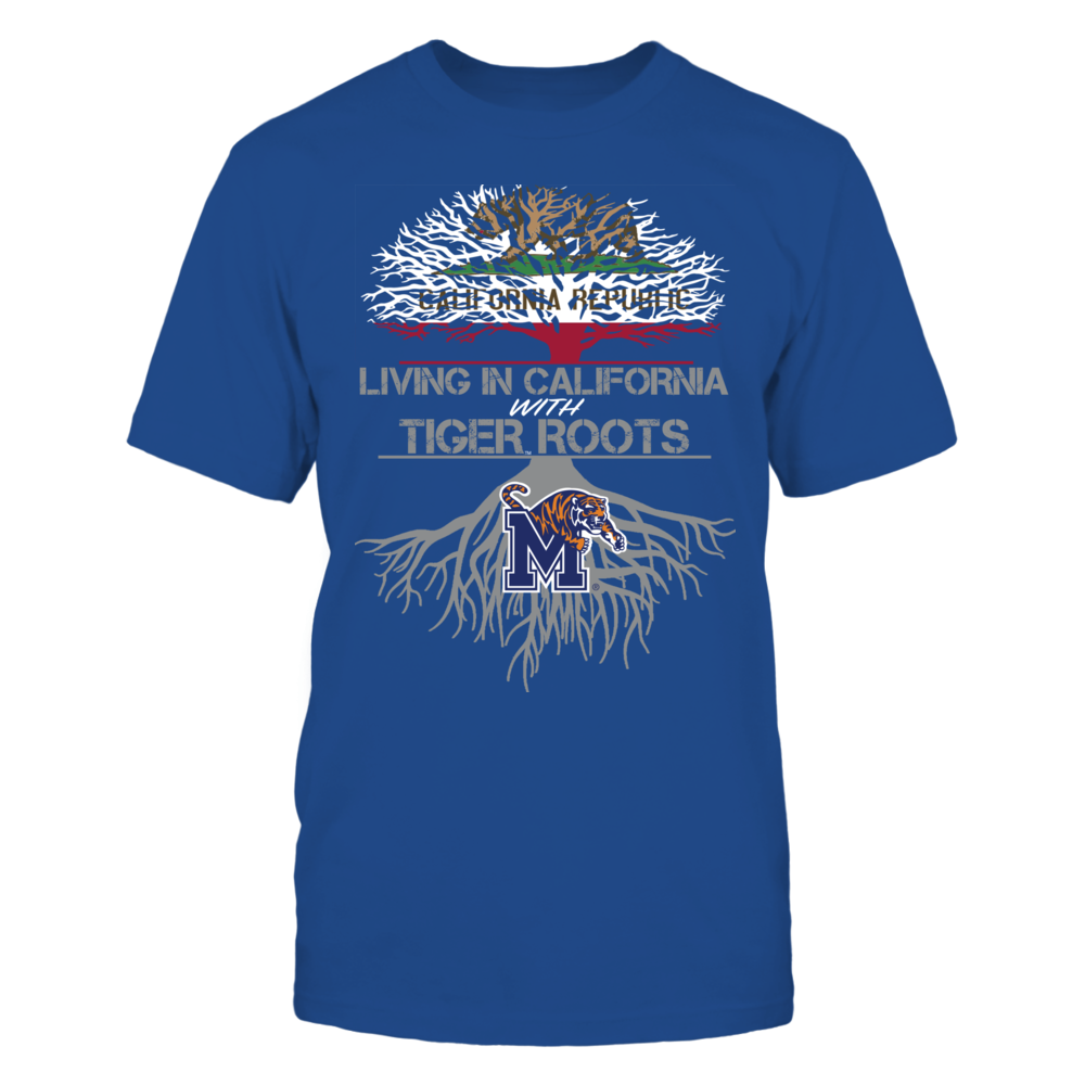 Memphis Tigers - Living Roots California Front picture