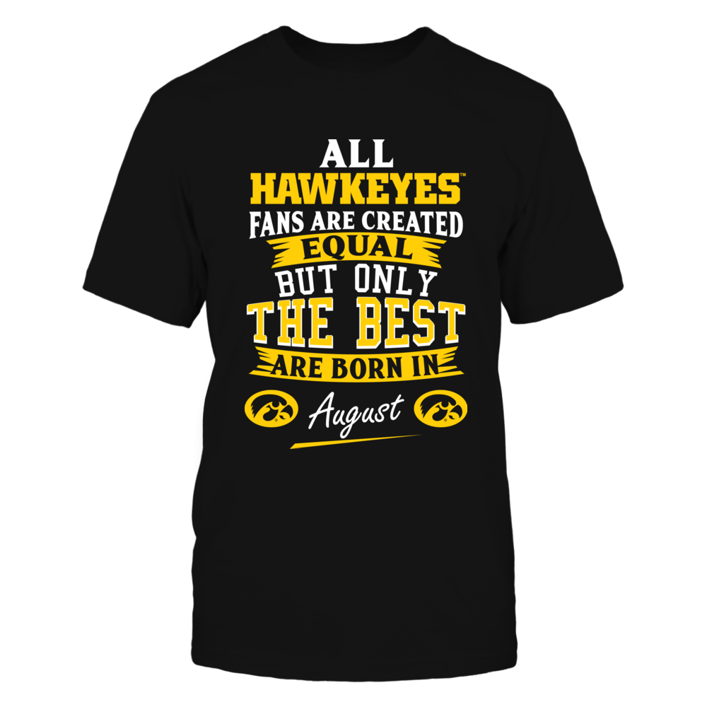 Iowa Hawkeyes Fans - August Front picture