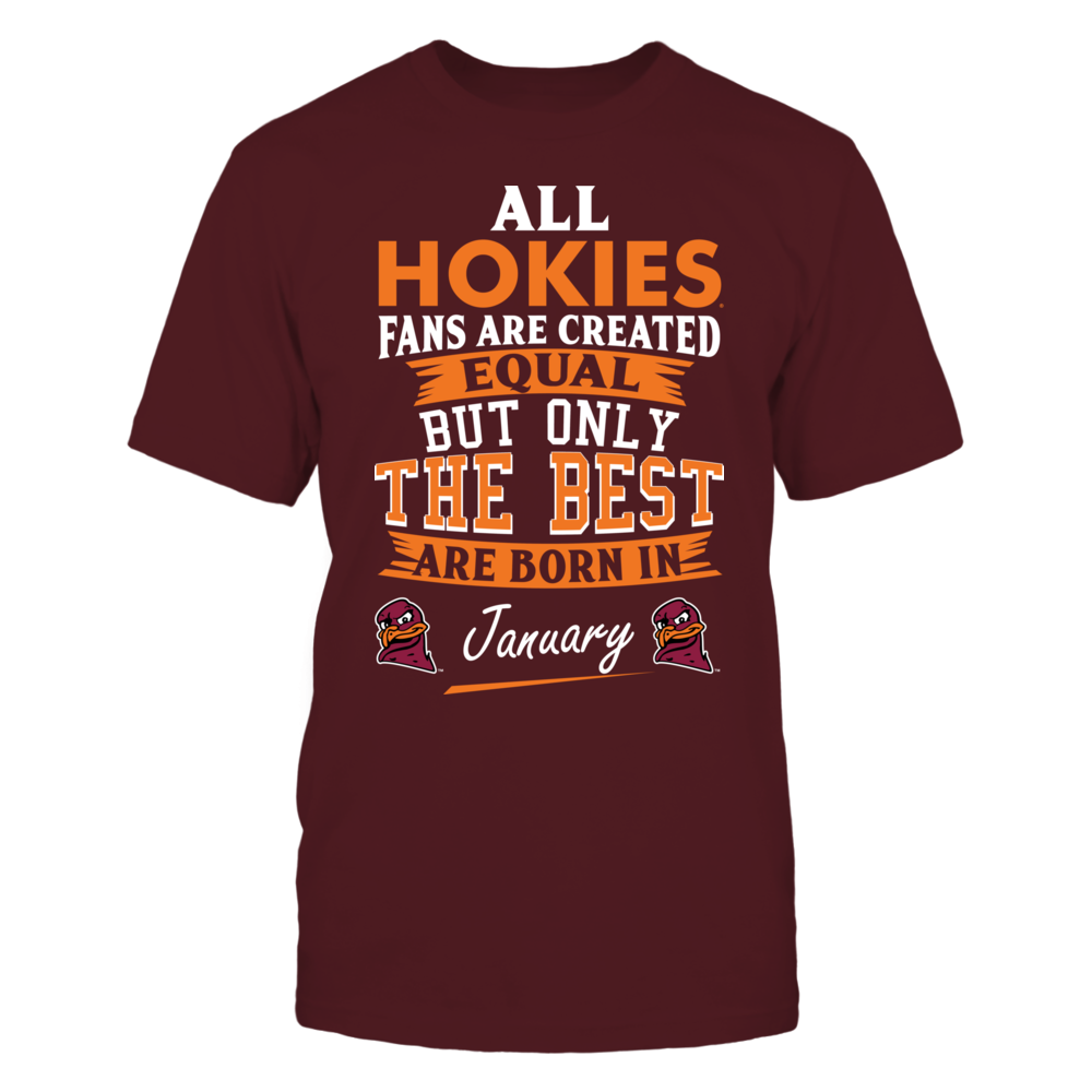 Virginia Tech Hokies Fans - January Front picture